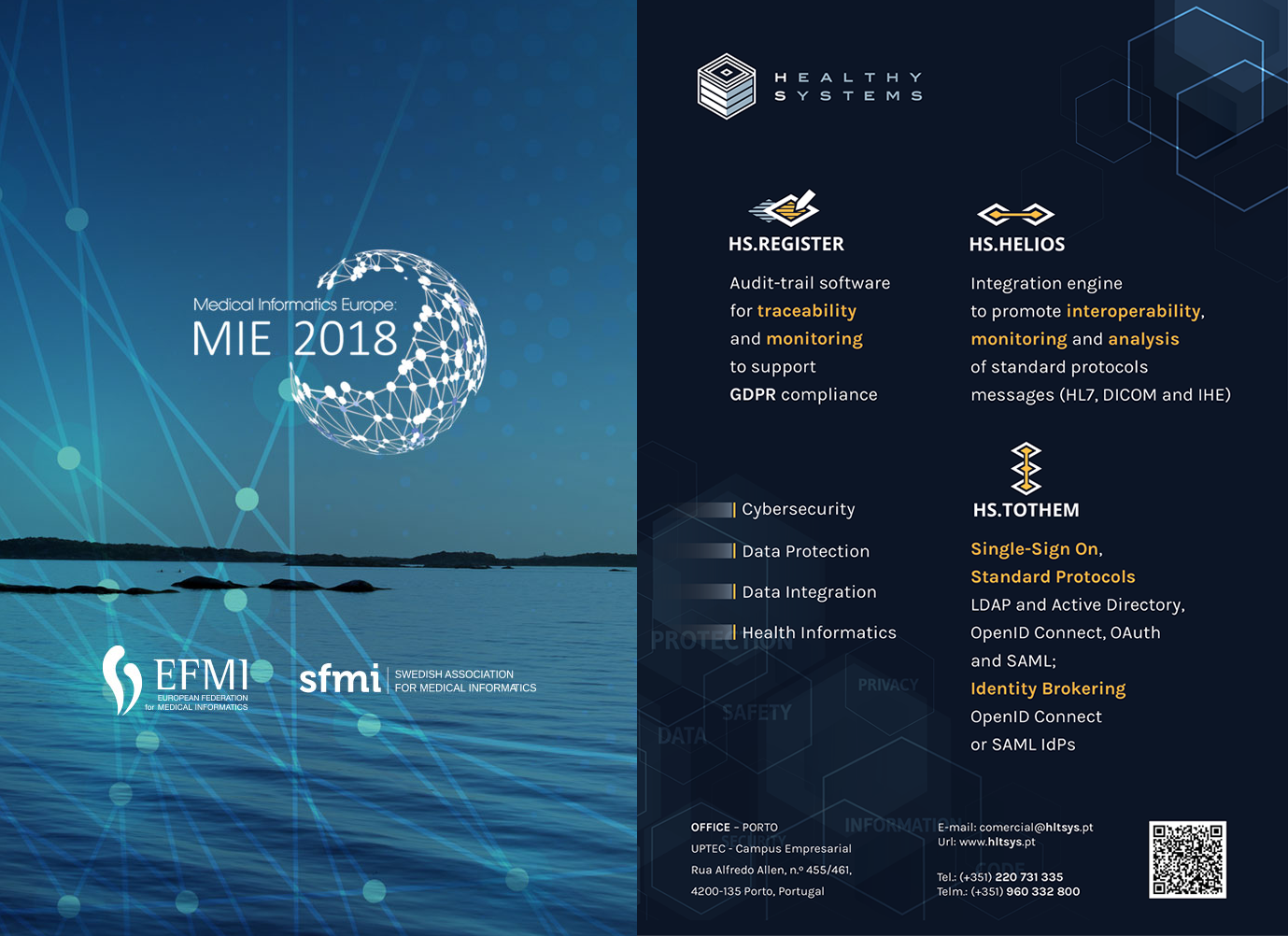 HealthySystems participated at MIE2018
