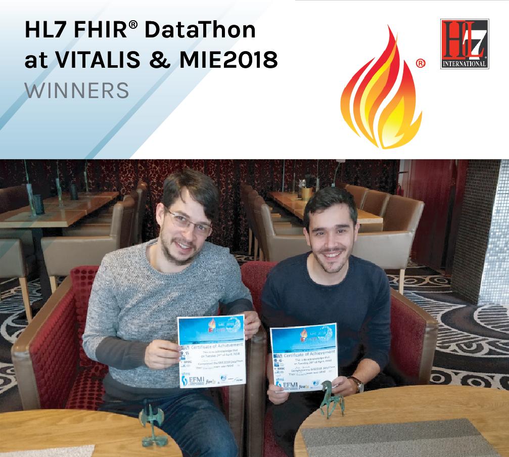 HL7 FHIR® DataThon at VITALIS & MIE2018